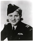 """view Cochran, Jacqueline """"Jackie"""" (Bessie Lee Pittman); Military, UK, Royal Air Force (RAF), Air Transport Auxiliary (ATA). [photograph] digital asset number 1"""