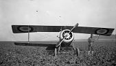 view Campbell, Courtney; Nieuport XVII; Military, USA, Air Force Units, Lafayette Escadrille. [photograph] digital asset number 1