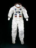 view Pressure Suit, A7-L, Aldrin, Apollo 11, Flown digital asset number 1