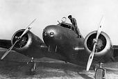 view Earhart, Amelia; Lockheed Model 10-E Electra, Earhart Aircraft (NR16020). [photograph] digital asset number 1