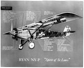 """view Ryan NYP """"Spirit of St Louis"""", Drawings. [ephemera] digital asset number 1"""