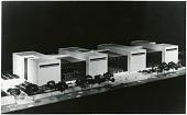 view Museums, Smithsonian Institution, NAM/NASM, Buildings, NASM Bldg, 1972 Design (HOK), Scale Model. [photograph] digital asset number 1