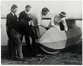 view Lindbergh, Anne Spencer Morrow; Lindbergh, Charles Augustus; Bowlus (Hawley) Sailplane Co, General. [photograph] digital asset number 1