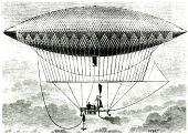 view LTA, Airships, France, Giffard (Henri), 1852 Design. [photograph] digital asset number 1