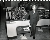 view Whittle, Frank J.; Engines, Power Jets (Whittle) W1X Turbojet. [photograph] digital asset number 1