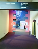 view Museums, Smithsonian Institution (SI), Exhibits, NASM, Life in the Universe (Gallery 107) (1976-1979). [photograph] digital asset number 1