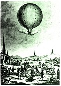 view LTA, Balloons, France, Montgolfier Brothers, 1st Unmanned Flight, Annonay (4 Jun 1783). [photograph] digital asset number 1