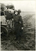 view Dutrieu, HTlFne; Santos-Dumont Demoiselle Type Ground Trainer (Penguin). [photograph] digital asset number 1
