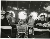 view Sikorsky S-42 Clipper, Interior, Passenger Cabin; Pan American Airways (PAA), Crews, Cabin, Food Service (Steward). [photograph] digital asset number 1