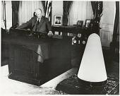 "view Eisenhower, Dwight David ""Ike""; Jupiter-C Launch Vehicle. [photograph] digital asset number 1"
