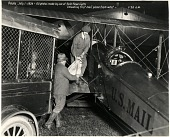 view 1924 USA, Eastbound Transcontinental Air Mail Service; Dayton Wright DH-4. [photograph] digital asset number 1