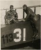 view Maynard, Belvin W. (Lieutenant); Kline, William E. (Sgt); General Motors (Fisher) DH-4; Events, 1919 USA, Transcontinental Air Race. [photograph] digital asset number 1