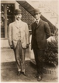 view Wright, Orville; Wright, Wilbur. [photograph] digital asset number 1