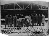 view Challenger Air Pilots' Association; Airports, USA, Illinois, Robbins Airport; Robinson, John C.; Bragg, Janet Harmon Waterford; Hurd, Harold; Coffey, Cornelius; Church Mid-Wing Monoplane. [photograph] digital asset number 1