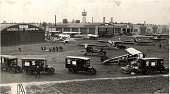 view Air Mail, Loading and Unloading; Airports, USA, Illinois (IL), Chicago Airport. [photograph] digital asset number 1