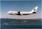 view Boeing Model 747-121; Pan American Airways (Pan Am) (USA), General and Undated. [photograph] digital asset number 1