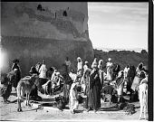 view California-Arabian Standard Oil Co. Saudi Arabia Expedition; Dammam; Saudi Arabians. [photograph] digital asset number 1