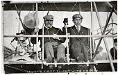 view Hoxsey, Arch; Roosevelt, Theodore (President); Wright (Co) Type AB; Events, 1910, USA, St Louis (MO), 1st Presidential Flight. [photograph] digital asset number 1