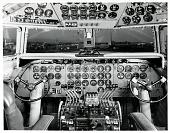 view Douglas DC-7 (Cockpit). [photograph] digital asset number 1