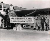 "view Ryan NYP ""Spirit of St Louis""; Lindbergh, Charles Augustus; van der Linde, H. J.; McNeel, O. R.; Hamond, George; Hall, Donald; Edwards, A. J.. [photograph] digital asset number 1"