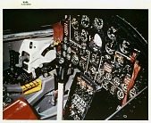 view North American X-15, Cockpit. [photograph] digital asset number 1