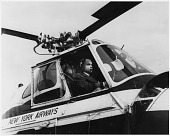 view Young, Perry H., Jr; Airlines, New York Airways (USA); Sikorsky S-55; African Americans in Aeronautics. [photograph] digital asset number 1
