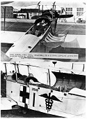 view Curtiss JN-4H Jenny Family, Ambulance Modifications. [photograph] digital asset number 1