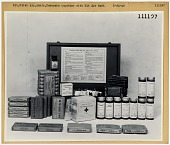 view Equipment, Emergency Rescue / Safety / Survival / Medical Equipment / First Aid Kits; Safety, Survival and Rescue, Arctic Survival. [photograph] digital asset number 1