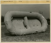 view Equipment, Emergency Rescue / Safety / Survival, Life Rafts / Lifeboats / Sea Rescue Equipment, Life Raft, Type A-3. [photograph] digital asset number 1