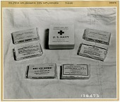 view Equipment, Emergency Rescue / Safety / Survival, First Aid Kits; Survival, Life Rafts / Lifeboats / Sea Rescue Equipment. [photograph] digital asset number 1