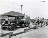 view Military, USA, Army Air Corps, Operations; Equipment, Vehicles, Fuel Trucks; Propulsion, Accessories, Fuels, Ground Servicing; Propulsion, Accessories, Fuels & Lubricants, Ground Equipment. [photograph] digital asset number 1