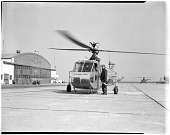 view Sikorsky (VS-316A, S-48) HNS-1; Military, USA, Coast Guard; Air Transport, Airports, USA, New York, NYC, Floyd Bennett Field. [photograph] digital asset number 1
