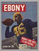 view Front cover from Ebony magazine, October 1946 digital asset number 1