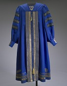 view Academic robe worn by Dr. Johnnetta B. Cole at Bennett College digital asset number 1