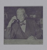 view Printing plate of an unidentified Woolsey Hall employee digital asset number 1