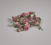 view Artificial pink flowers from Mae's Millinery Shop digital asset number 1