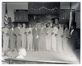 view Indoor Group Shot at Mount Horeb Baptist Church, Rev. R.T. Strong digital asset number 1