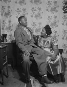 view Indoor Portrait of a Couple Sitting, Eula Parham digital asset number 1