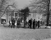 view Image of a civil rights protest outside Greenville City Hall digital asset number 1