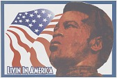 view Poster for the album Living in America by James Brown digital asset number 1