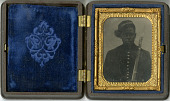 view Ambrotype of a Civil War soldier digital asset number 1