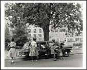 view <I>Desegregation of Central High School Little Rock, AR</I> digital asset number 1