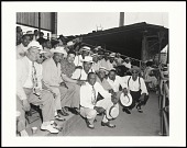 view <I>Larry Brown with fans, Martin's Stadium, Memphis, TN</I> digital asset number 1