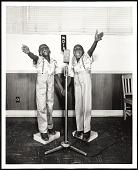 view <I>Twins at WDIA, Memphis, TN</I> digital asset number 1
