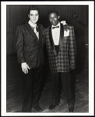 view <I>The Two Kings, Elvis Presley with B.B. King at WDIA Goodwill Review, Memphis, TN</I> digital asset number 1