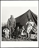"""view <I>""""Tent City"""" family, Fayette County, TN</I> digital asset number 1"""