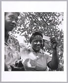 view <I>Young woman receives her voter registration card, Fayette County, TN</I> digital asset number 1
