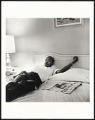 view <I>Dr. Martin Luther King, Jr. resting in Lorraine Motel following March Against Fear, Memphis, TN</I> digital asset number 1