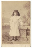view Cabinet card of an unidentified girl digital asset number 1