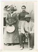 view Postcard of Harriet Tubman, Nelson Davis, and daughter Gertie digital asset number 1